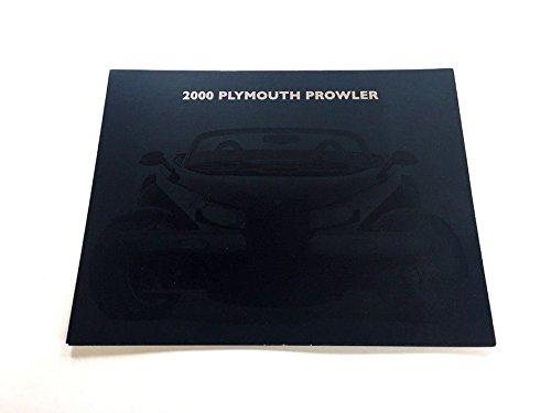 2000 Plymouth Prowler Original Car Sales Brochure Folder