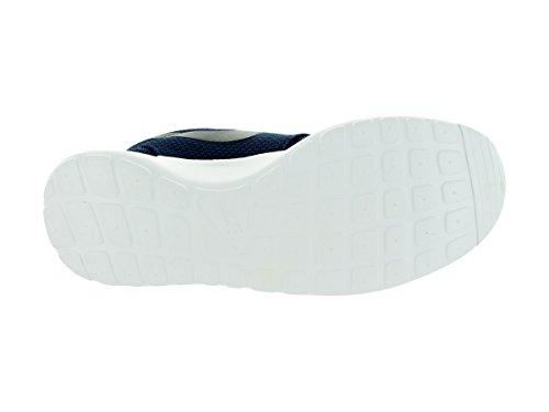 New Nike Mens Roshe Casual Elegante Scarpa Sneaker Blu Notte / Nero-bianco