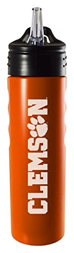 clemson-university-24oz-stainless-steel-grip-water-bottle-with-straw-orange