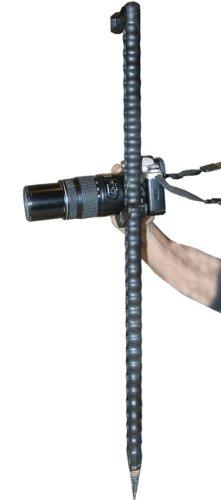(MTM Shooter's Adjustable Walking Stick (Black))