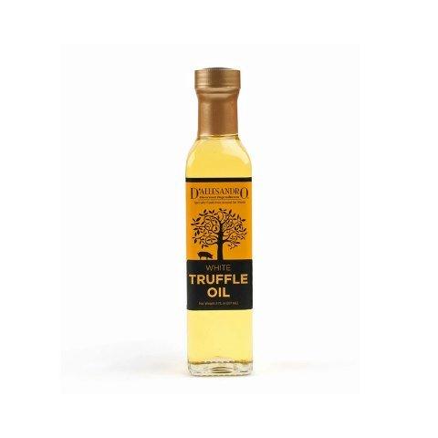 DAllesandro 8 oz White Truffle Oil Bottle - Pack of 12 by DAllesandro