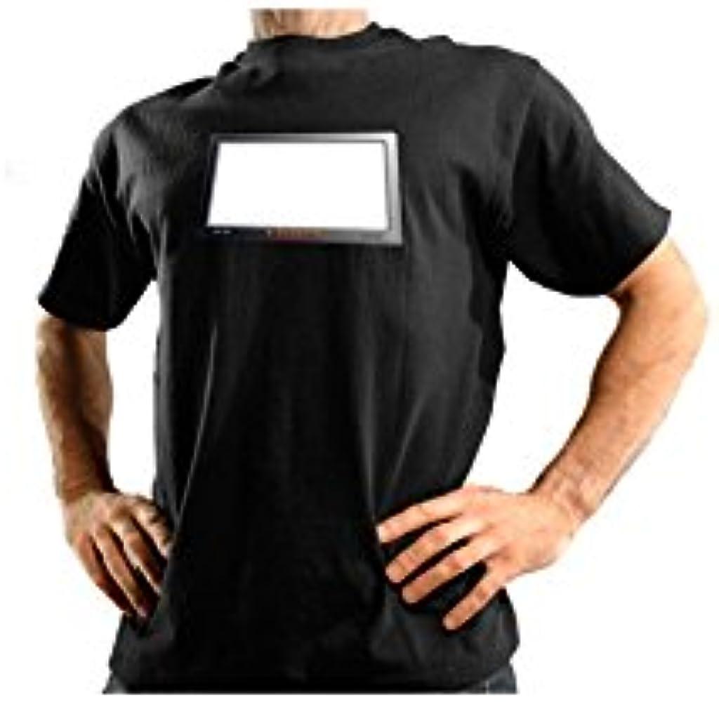 Acierta7 Camiseta LED Pizarra - XL: Amazon.es: Ropa y accesorios