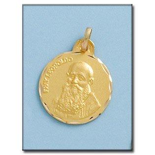 Médaille D'or 18kt Fray Leopoldo 19mm