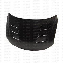 Seibon HD1112SCNTC-TS TS Carbon Fiber Hood Scion TC 2011-2012 ()