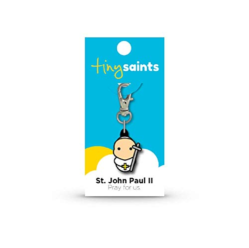 NDC St. Pope John Paul II Tiny Saints Charm