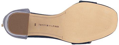 Blue Light Tommy Heeled Sandal Sunday Women's Hilfiger 8qwY7f