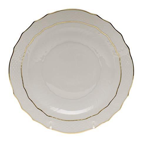 Herend Golden Edge Porcelain Salad Plate