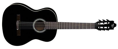 Dean C CBK Espana Classical Full Size Guitar, Classic Black