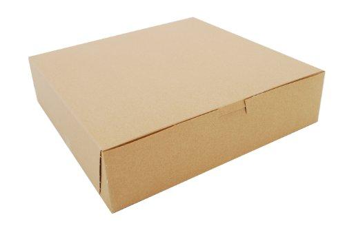 Southern Champion Tray 0969K Kraft Paperboard Non Window Lock Corner Bakery Box, 10