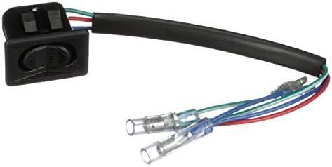 4/X en fibre de carbone ABS fen/être Lift commutateur Bouton Coque Trim pour s/érie 2/F45/F46/218i 2015 2018/Conduite /à accessoires auto