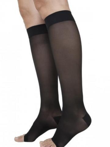 21ff1c7061 Galleon - SIGVARIS Women's EVERSHEER 780 Open Toe Calf Compression Socks  20-30mmHg