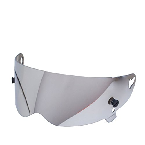 CRG Replacement Shield Visor for Full Face Helmet (Mirrored - Mirrored Visor
