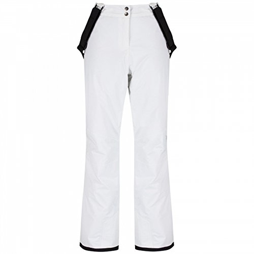 Dare 2b Womens/Ladies Attract II Ski Trousers Salopette Pants White