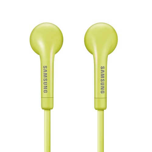 Wired Headset with Inline Mic - Retail Packaging - Yellow/