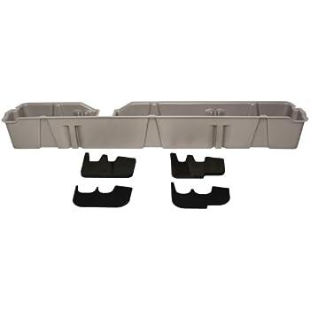 Black DU-HA Under Seat Storage Fits 09-14 Ford F-150 SuperCrew without Subwoofer Part #20075