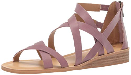 (Lucky Women's Helenka HIGH Heel Wedge Sandal, Wild Orchid, 12 M US)