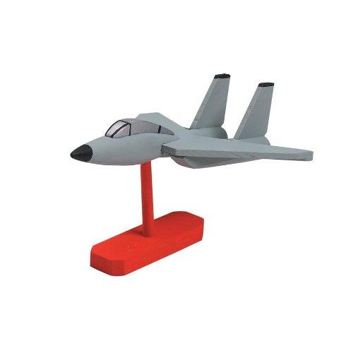 Darice 9178 88 Wooden Fighter Model