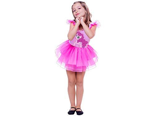 Fantasia My Little Pony Pinkie Pie Pop Gbl P - Pacote Com 01 Un Regina Colorida Pequeno