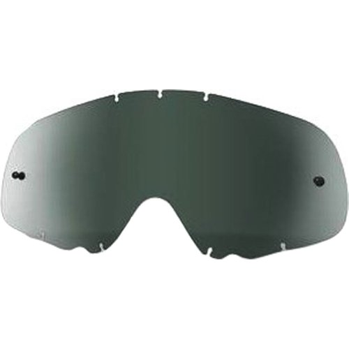 Oakley Crowbar MX Replacement Lens (Dark Grey, One Size) by Oakley