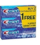 (US) Crest 3D White Foaming Clean 3.5oz (3 Pack)