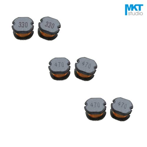Maslin 100Pcs SMD 1095.4mm Chip Choke Coils Wire Wound Power Inductor 3.3/10/12/15/18/22/27/33/39/47/56/68/82uH - (Value of Resistance: 33uH)