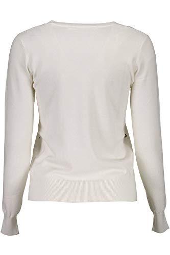 Bianco Bianco A021 donna W73R93Z1L70 modello Guess Guess Guess maglia Flora wxSqXAw7