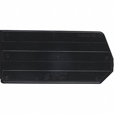 QUANTUM STORAGE SYSTEMS Bin Divider Black PK6