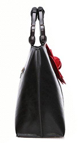 de Rose main Tibes supérieure mariage cuir soirée sac poignée sac faux à floral wq6qRI