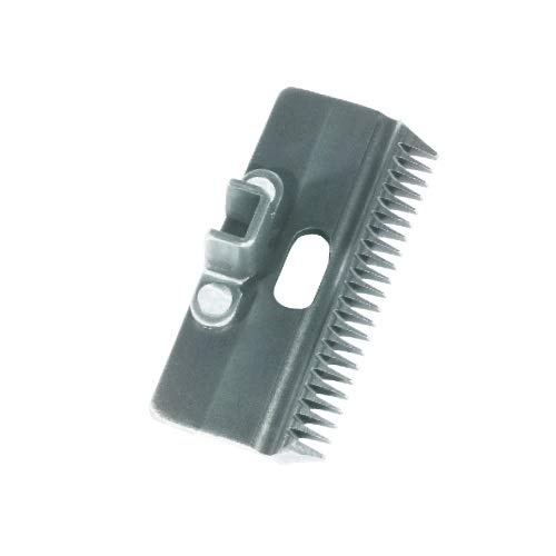 Hauptner 86863000 Standard-Oberkamm 22 Zähne, 3 mm Schnitthöhe (Rind), Silber 3 mm Schnitthöhe (Rind)