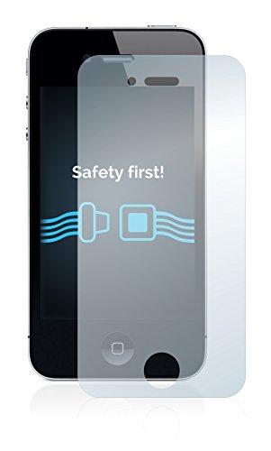 [6 Pack] Savvies Pellicola Protettiva per Apple iPhone 4 Protezione Proteggi Schermo - Trasparente