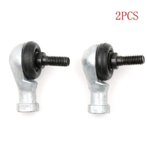 Ochoos 2Pcs 6mm Ball Joint Rod End Bearing SQ6RS Right Hand Tie Rod Ends