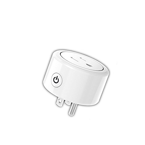 Smart Plug Energy Monitor, Wi-Fi Mini Smart Outlet Works With Google Home, Alexa, IFTTT, No Hub Required(1 Pack) by DongXinHeng