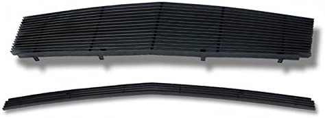 APS Compatible with 2003-2007 Cadillac CTS Black Billet Grille Grill Combo Insert A87922H