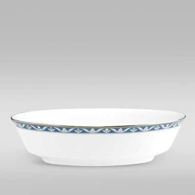 - Noritake Pearl Majesty Oval Vegetable Bowl, 32-Ounce