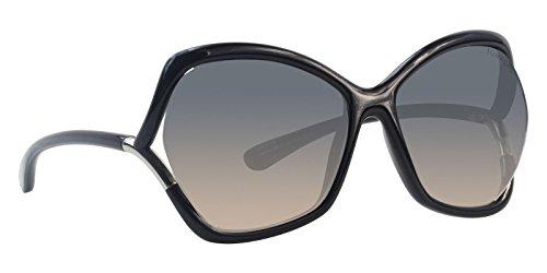 Tom Ford Astrid-02 Black / Blue Lens ()