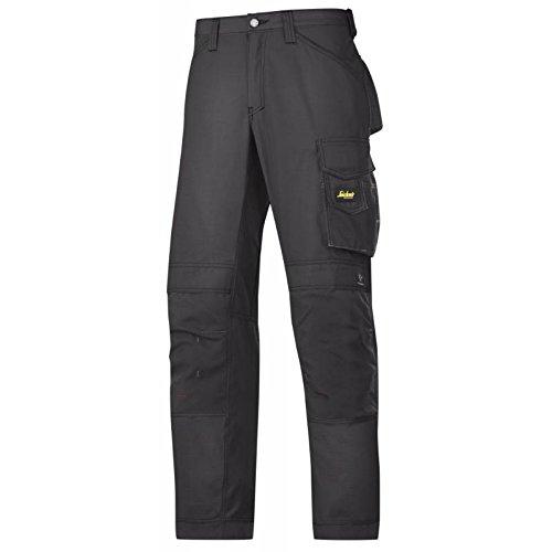 Snickers 84.151.226.668cm Rip-Stop'Artesanos pantalones, Color negro 200