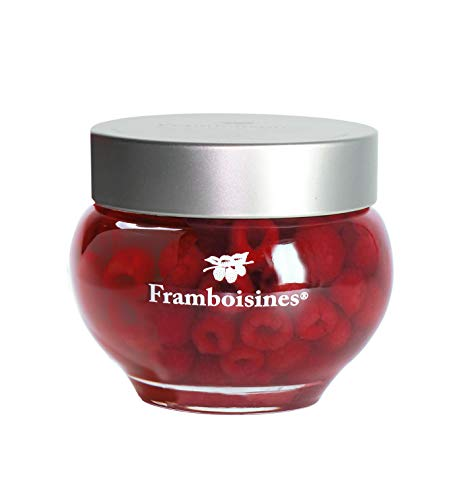 Liqueur Raspberry (Peureux Framboisines Raspberries in Liqueur in Glass Jar)