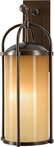 Feiss OL7602HTBZ Dakota Outdoor Patio Lighting Wall Lantern