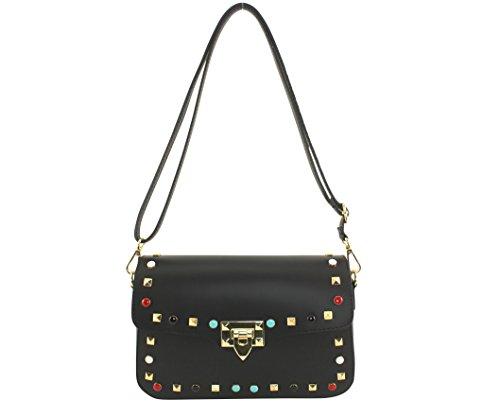 Lola Chloly Leather Bag Folded Single Black Women Size