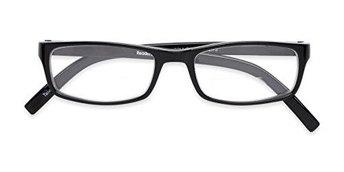 Readers.com | The Vancouver Bifocal +1.50 Black Reading Glasses by Readers (Image #4)
