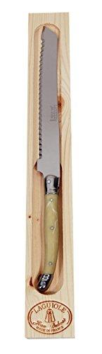 Jean Dubost Laguiole Bread Knife in Wood Box