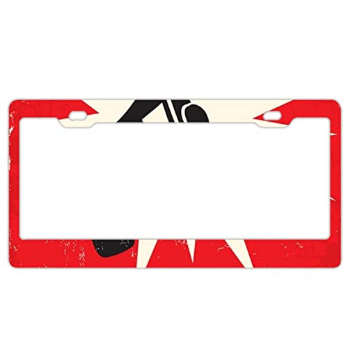 doormatscool License Plate Novelty Auto Car Tag Vanity Gift Megaphone Bubble