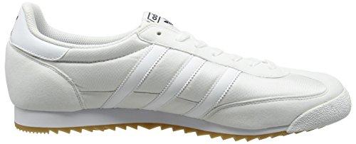 adidas Dragon Og, Zapatillas Unisex Adulto Blanco (Ftwr White / Ftwr White / Gum)
