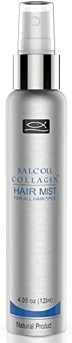 SALCOLL COLLAGEN Hair Mist - All-Natural, No-Rinse Collagen & Green Tea Based Hair Mist to Boost Hair Growth, Arrest Hair Fall & Aid Hair Loss Treatment - 120 ml