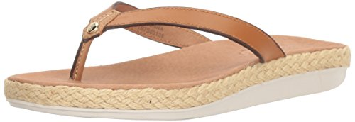 Tommy Bahama Women's Relaxology Ionnna Flip-Flop, Wood, 8 M US
