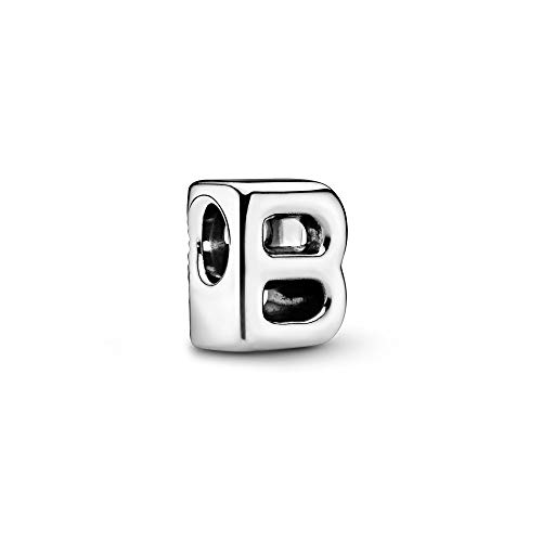 Pandora Jewelry - Letter B Alphabet Charm in Sterling Silver