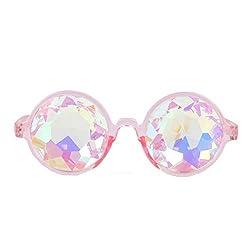 Kaleidoscope Rainbow Prism Sunglasses