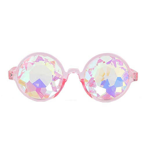 (Amazon Prime Deals,Festivals Kaleidoscope Glasses Rainbow Prism Sunglasses Goggles)