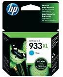 HP 933XL Cartouche d'encre d'origine pour Officejet 6100 ePrinter/6600 H711a/6700 Cyan