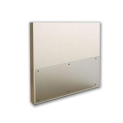 """Acrylic Plexiglass Clear Plastic Door Kick Plate 11-3/4"""" x 38"""""""